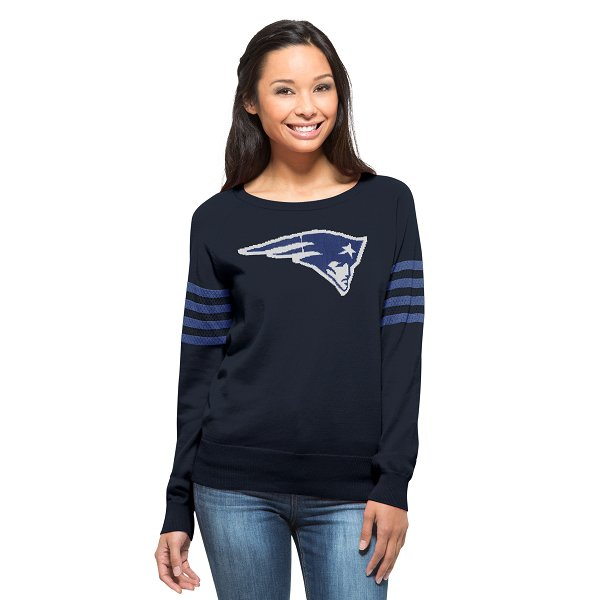 Ladies '47 Brand Drop Needle Sweater