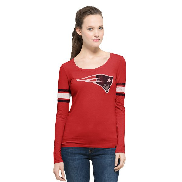 Ladies '47 Brand HR Long Sleeve Scoop Tee