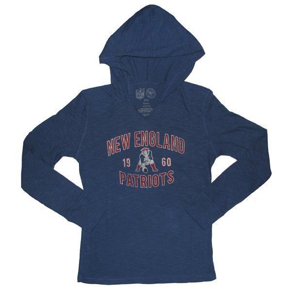 Ladies 47 Brand Throwback Primetime Hooded Top