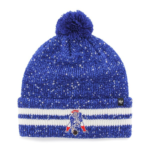 Ladies '47 Brand Amelia Throwback Knit-Royal