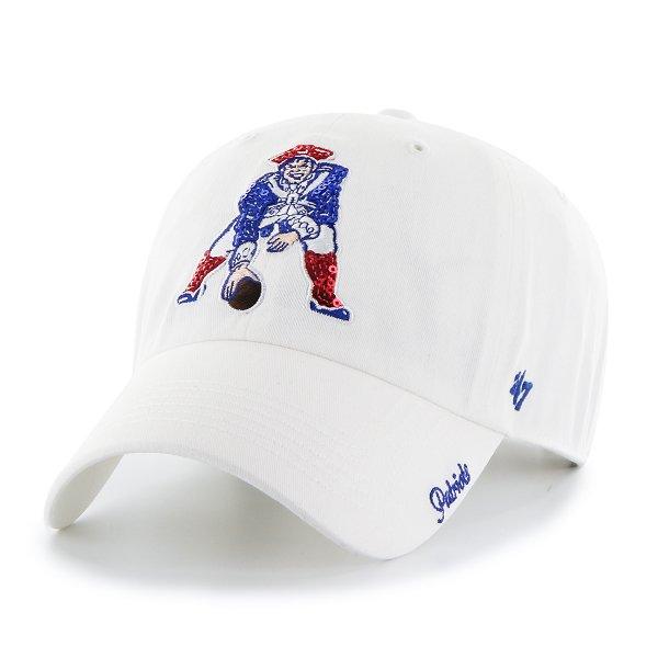 Ladies '47 Brand Throwback Sparkle Cap-White