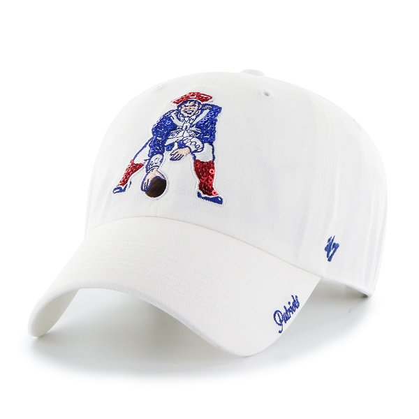 Ladies '47 Brand Throwback Sparkle Cap-White