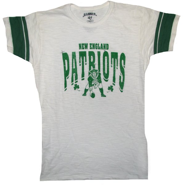 Ladies Throwback '47 Brand St. Pats Tee-White