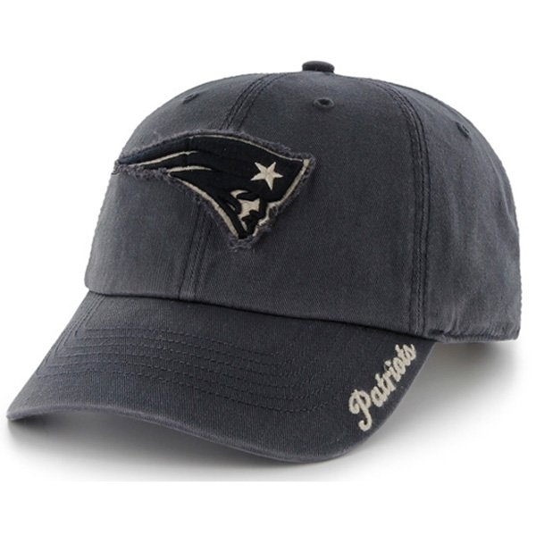 Ladies Patriots '47 Brand Braylin Cap-Navy