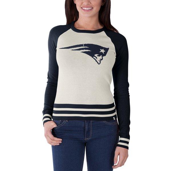 Ladies '47 Brand Pass Block Sweater