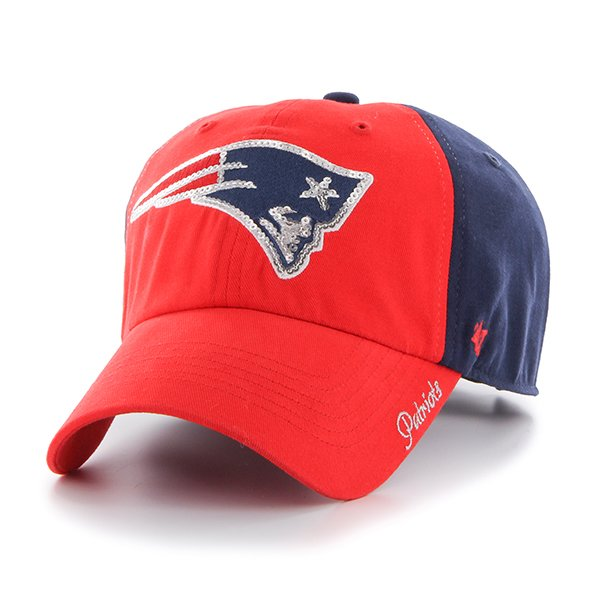 Ladies Sparkle Logo Cap-Red/Navy