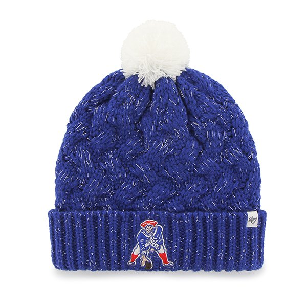 Ladies '47 Brand Throwback Fiona Knit-Royal