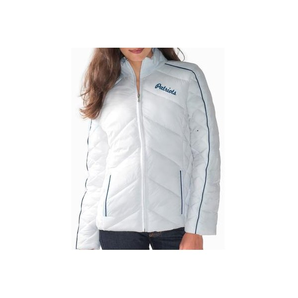 Ladies A Game Full Zip Jacket-White
