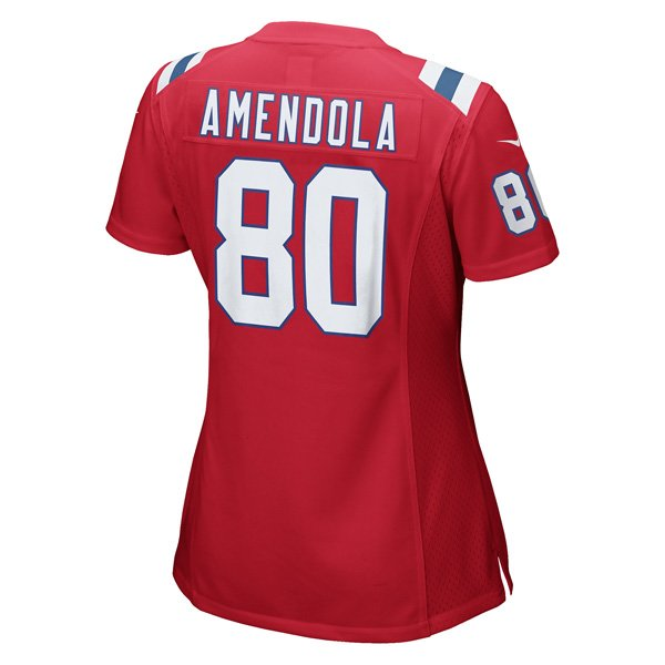 Ladies Nike Danny Amendola Throwback Game Jersey-Red