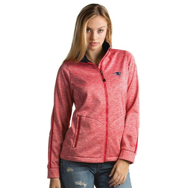 Ladies Full Zip Jacket-Red
