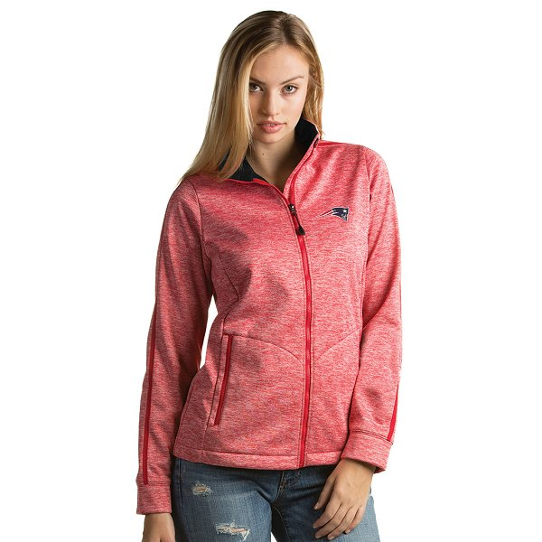 Ladies Full Zip Jacket-Red