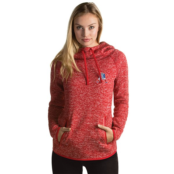Ladies Recruit Throwback Hood-Red