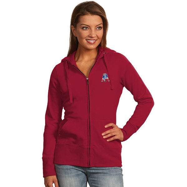 Ladies Patriots Throwback Signature Hood-Red