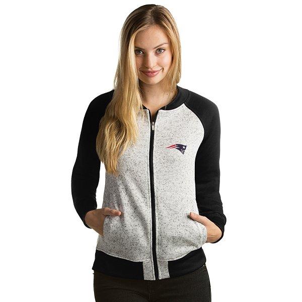Ladies Visitor Full Zip Jacket-Gray/Black