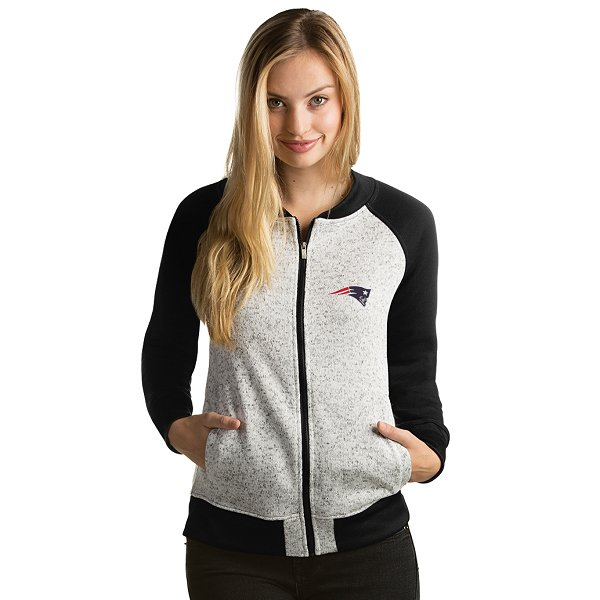 Ladies Visitor Full Zip Jacket-Gray/Black