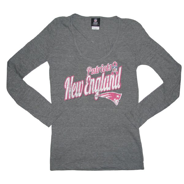 Ladies BCA Triblend L/S Top-Charcoal