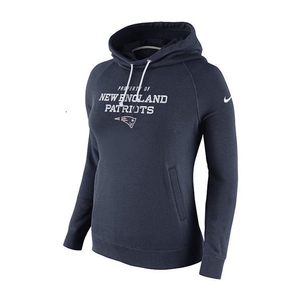 Ladies Nike Belichick Hood-Navy