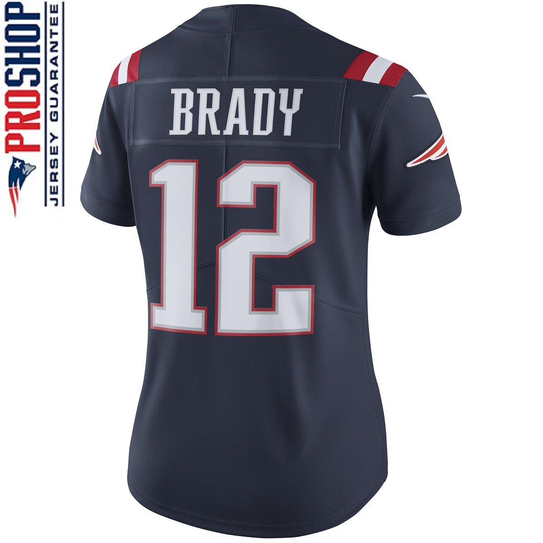 Ladies Nike Tom Brady Color Rush Limited Jersey-Navy
