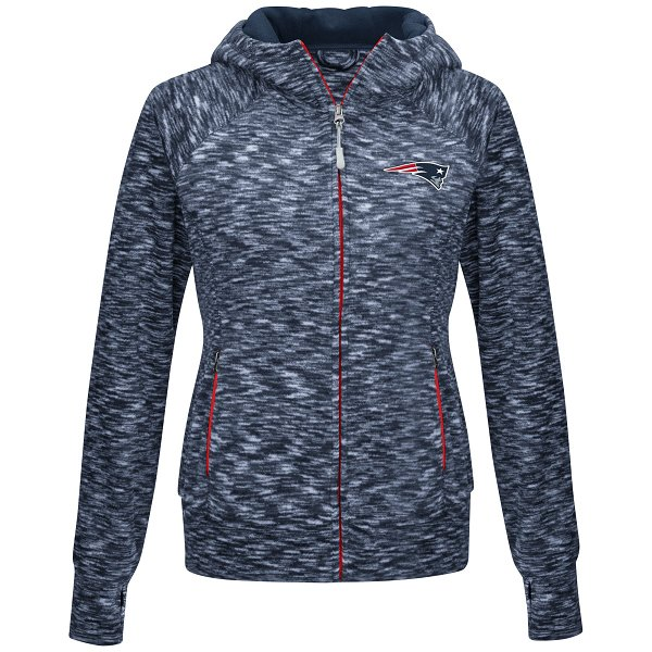 Ladies Break Trail Full Zip Fleece Jacket-Navy
