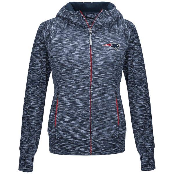 Ladies Break Trail Full Zip Fleece Jacket-Navy
