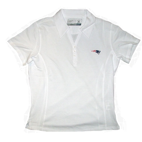 Ladies CB Drytec Polo-White