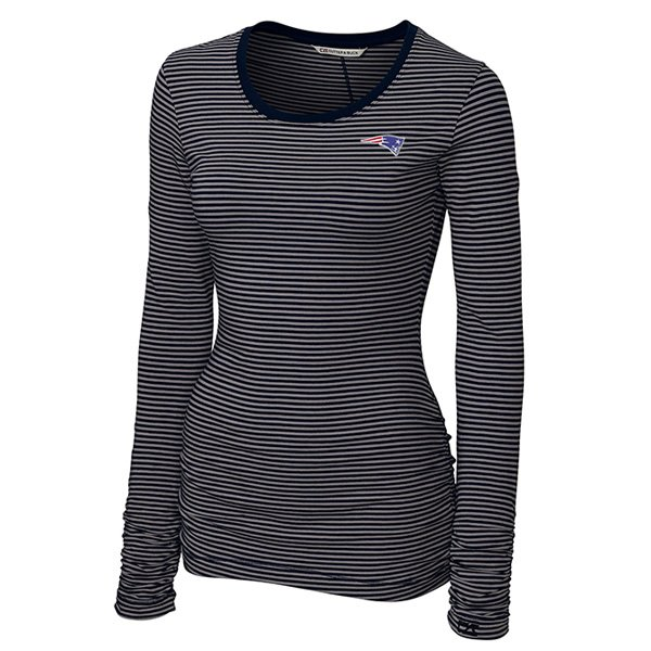 Ladies CB Lecture Long Sleeve Top-Navy