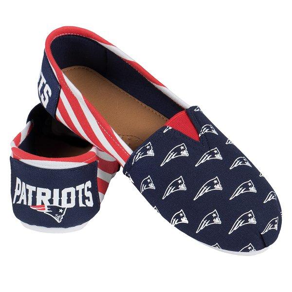 Ladies Canvas Stripe Shoe