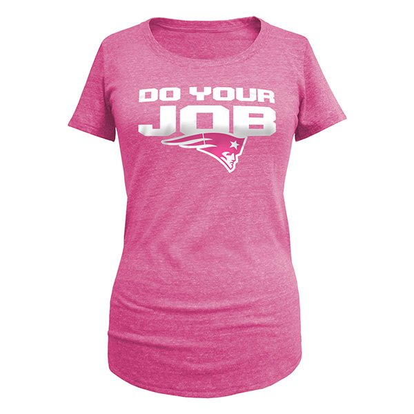 Ladies Do Your Job Tee-Pink
