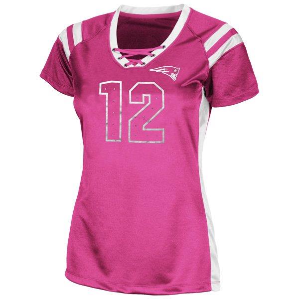 Ladies Draft Me Brady Top-Pink