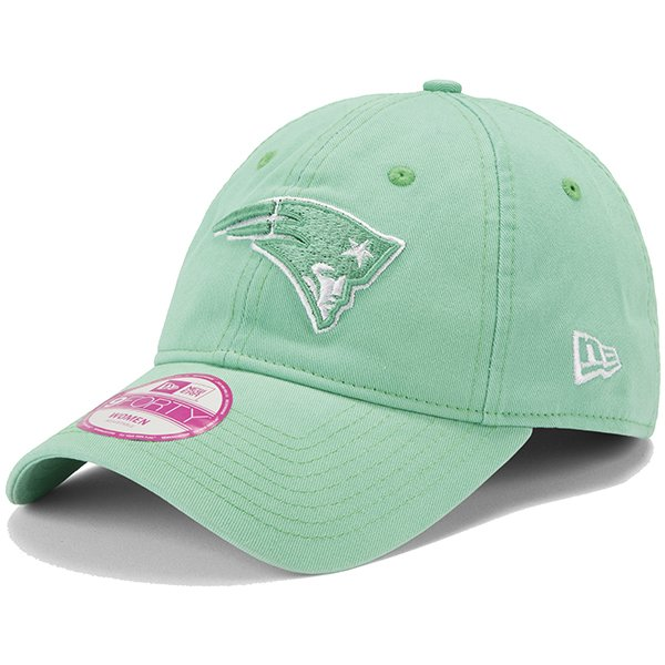 Ladies New Era Ess 9Forty Seafoam Cap