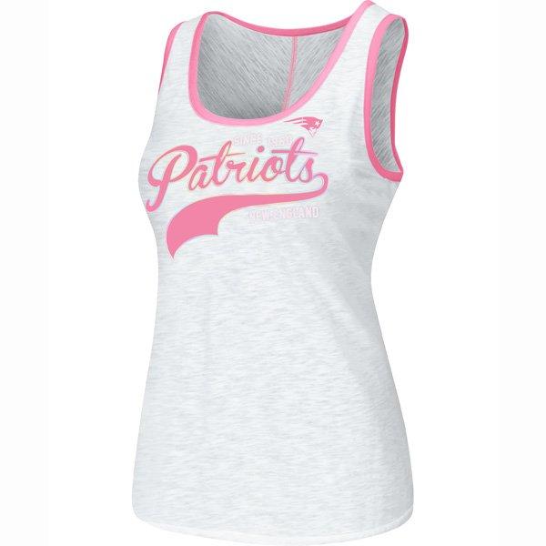 Ladies Change Up Tank-White/Pink
