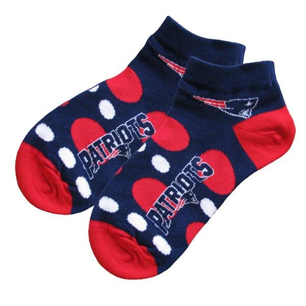Ladies Dots No Show Socks