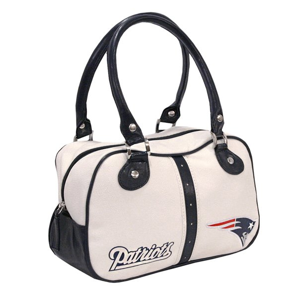 Ladies Ethel Pebble Hand Bag-White