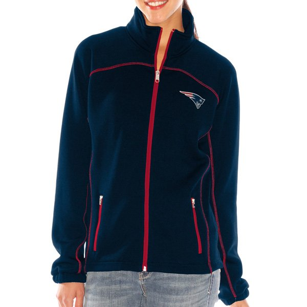 Ladies Fair Catch Full Zip Jacket-Navy
