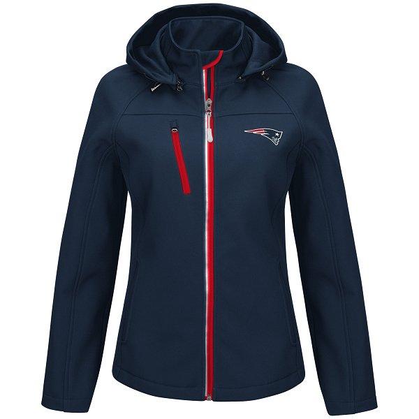 Ladies Fire Break Full Zip Jacket-Navy