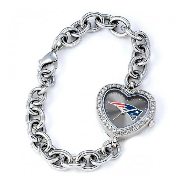 Ladies Patriots Heart Watch
