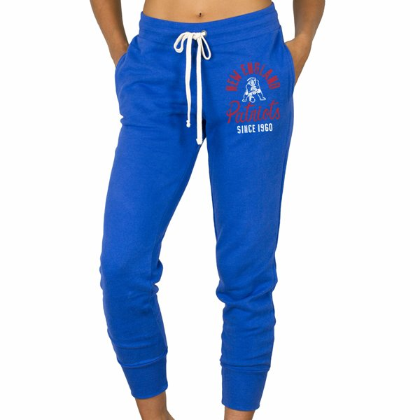 Ladies Junk Food Sunday Sweatpants-Blue