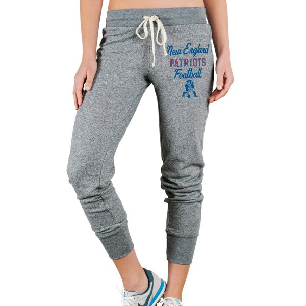Ladies Junk Food Throwback Sunday Sweatpants-Gray