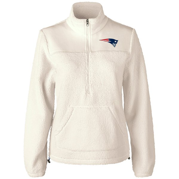 Ladies Kick Off Microfleece Jacket-White