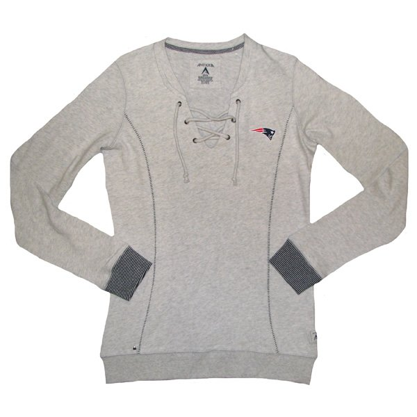Ladies Laceup Huddle Sweatshirt