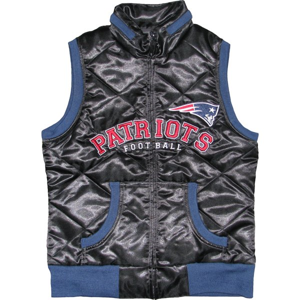 Ladies Love Football Vest-Black