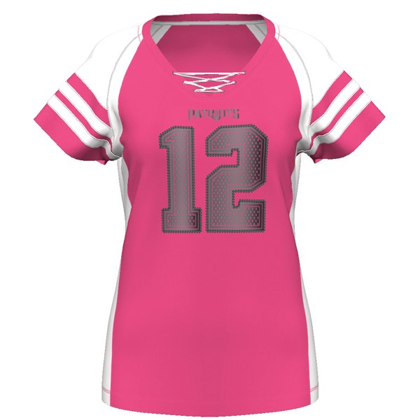 Ladies Majestic Brady Draft Top-Pink