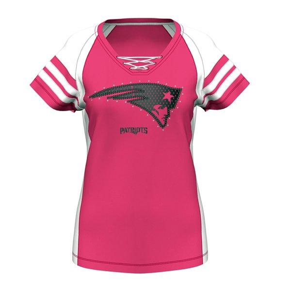 Ladies Majestic Draft Me VII Top-Pink