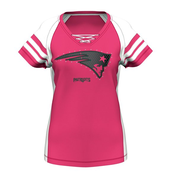 Ladies Majestic Draft Me VII Top-Pink