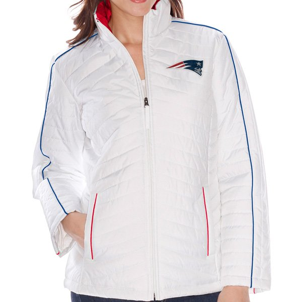 Ladies Milestone Full Zip Jacket-White