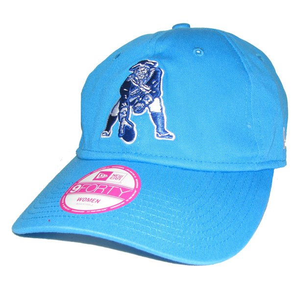 Ladies New Era Throwback 9Forty Periwinkle Cap