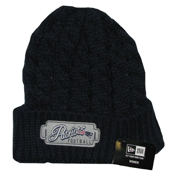 Ladies New Era Winter Weave-Navy