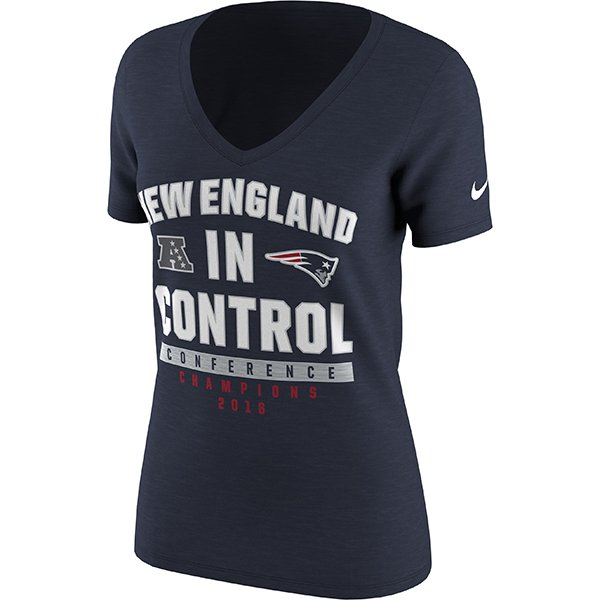 Ladies 2016 AFC In Control Tee-Navy
