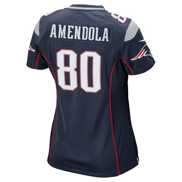 Ladies Nike Danny Amendola Game Jersey-Navy