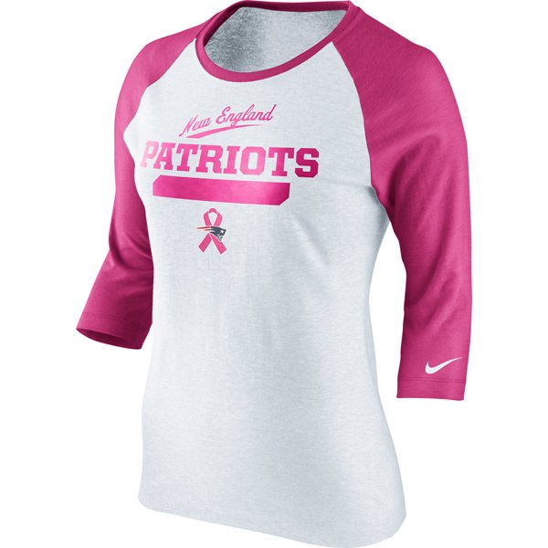 Ladies Nike Patriots BCA Raglan